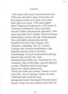Evald, 79. a