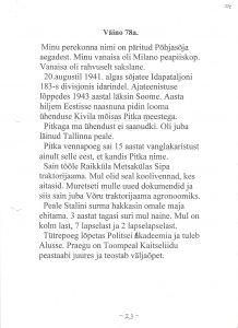 Väino, 78. a